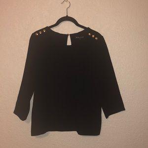 Sezane x Madewell Black Top -small